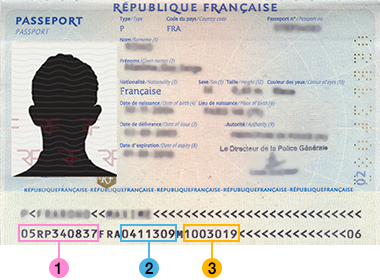 Identification Prepayees Formulaire